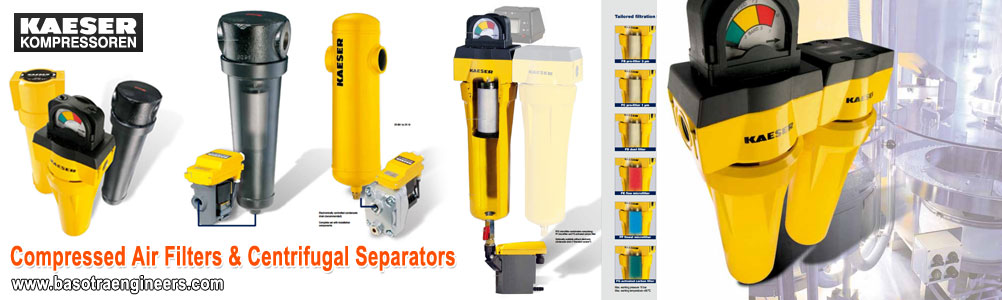 kaeser Compressed Air Filters & Centrifugal Separators suppliers distributors in ludhiana punjab india